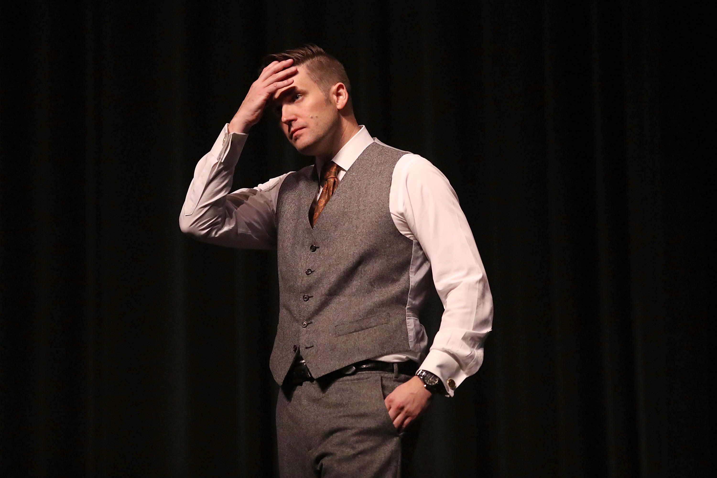 Richard Spencer at the University of Florida in Gainesville.