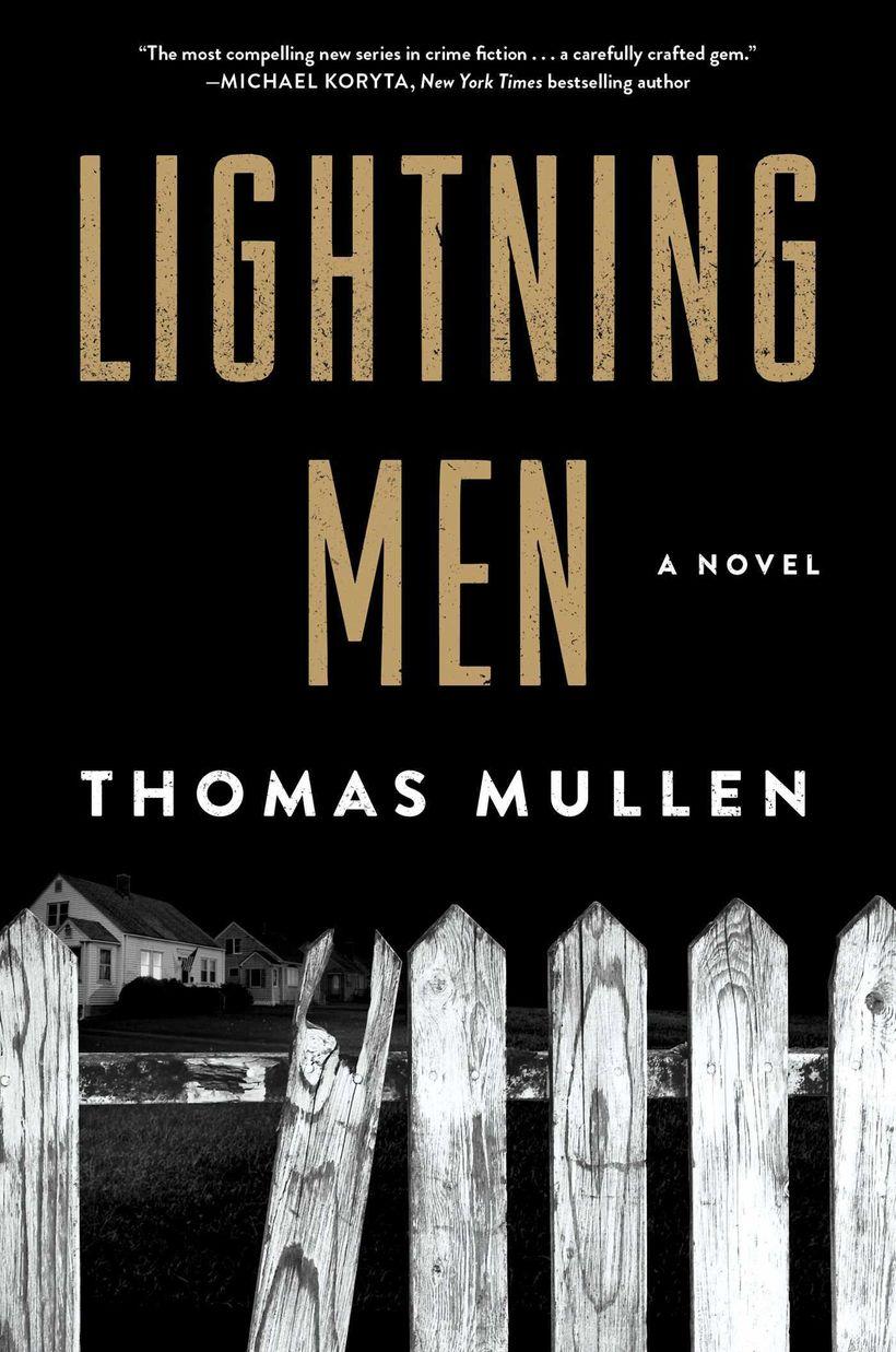 Cover of LIGHTNING MEN by Thomas Mullen