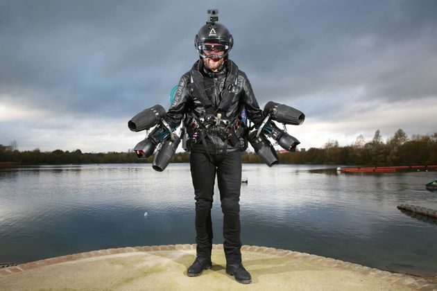 Real-Life Iron Man Sets Guinness World Record For Fastest Time In Jet