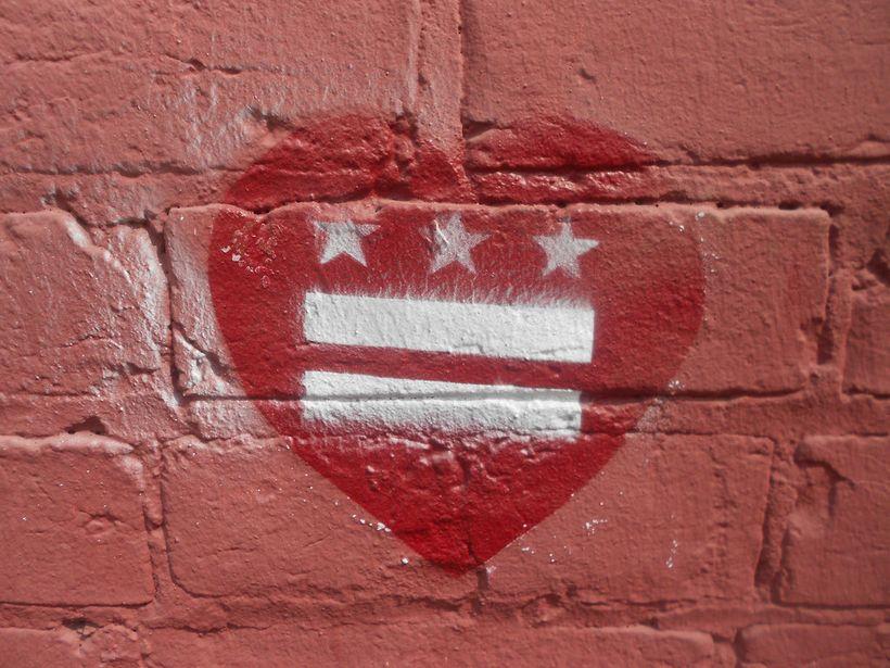 equality heart graffiti
