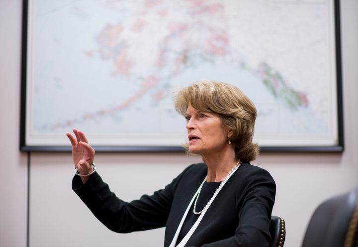 Sen. Lisa Murkowski's bill would open up an area of the Arctic wilderness to oil drilling in hopes of bringing in a