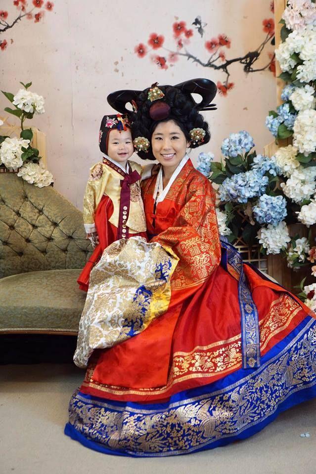 Ahnah and Senah in South Korea.
