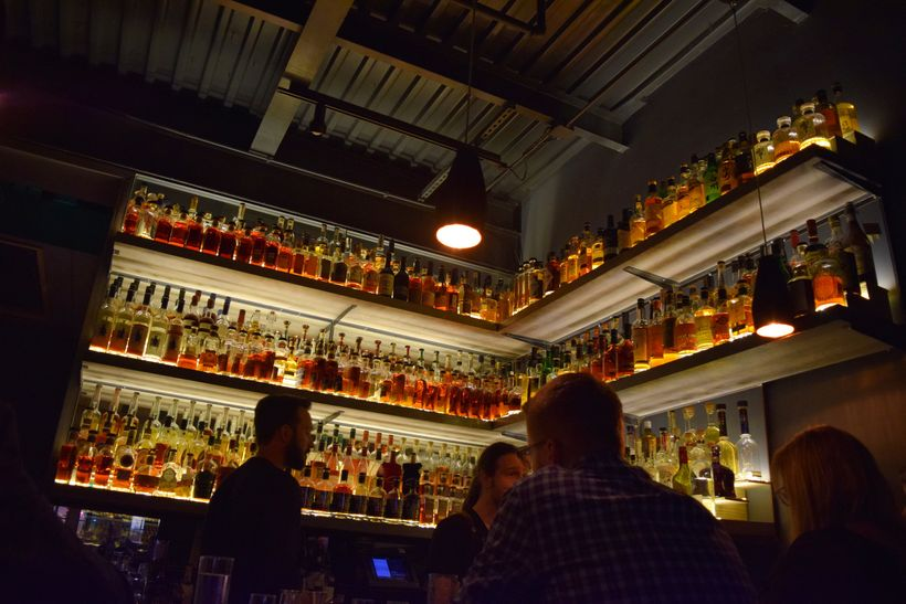 Whiskeys and Bourbons at Nashville's 404 Kitchen