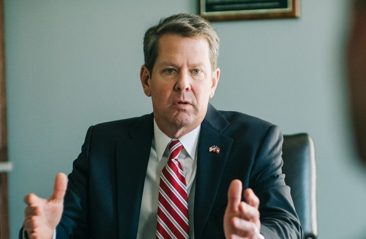 A petition is circulating in Georgia to hold a recall election for Secretary of State Brian Kemp. Hundreds of thousands of si