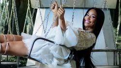 Nicki Minaj Stars In H&M's Fairytale Christmas