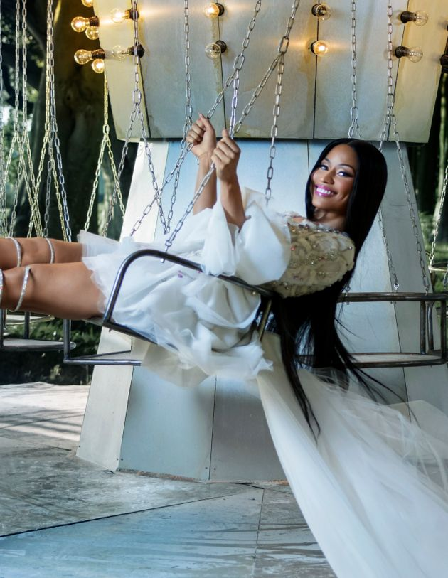Nicki Minaj Stars In H&M's Fairytale Christmas