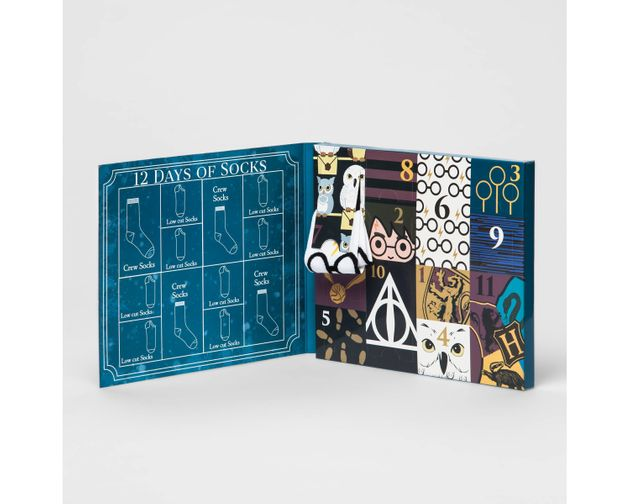 satisfy your inner dobby with this magical harry potter advent calendar huffpost uk. Black Bedroom Furniture Sets. Home Design Ideas