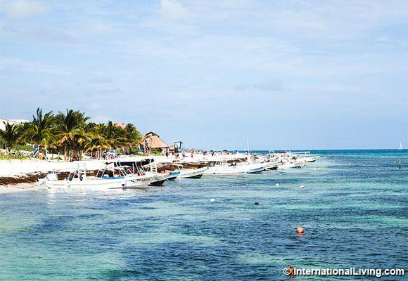 Puerto Morelos, Yukatan, Mexico.