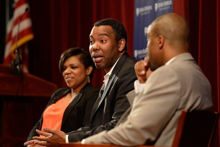 "As a prominent public intellectual, Ta-Nehisi Coates often sits at the center of debate. (<a rel=""nofollow"" href=""https://hub"