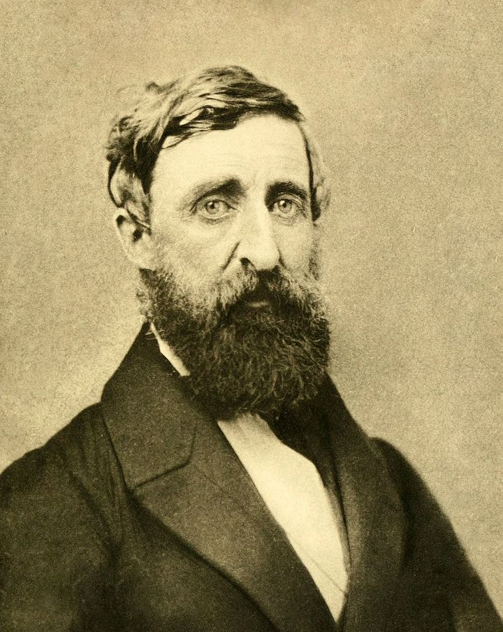 Henry David Thoreau refused to use corporal punishment when he began a career as a teacher.