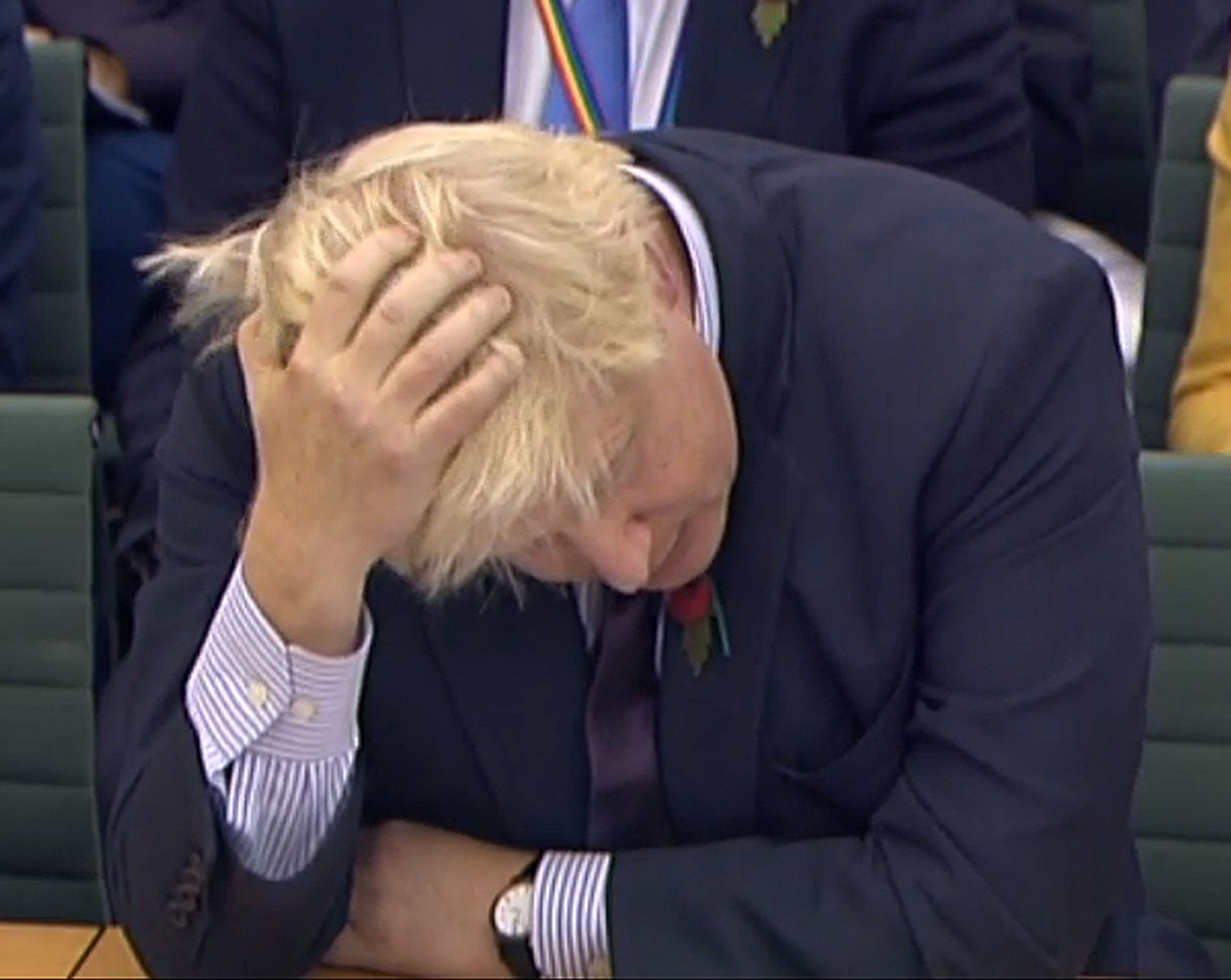 Boris Johnson giving evidence to the Foreign Affairs Committee last week.