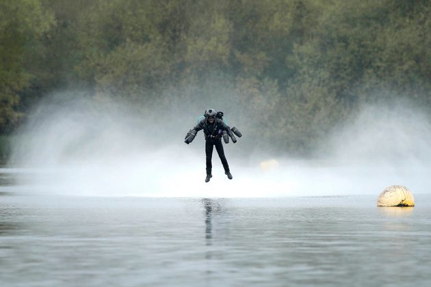 A Real-Life 'Iron Man' Just Set A World Record For