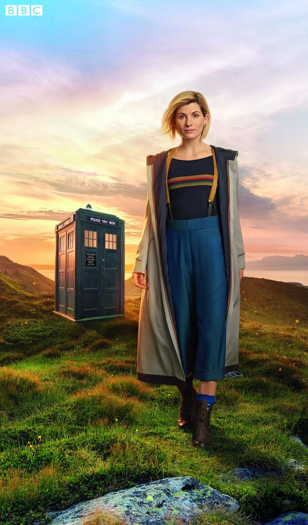 Jodie Whittaker as the Time