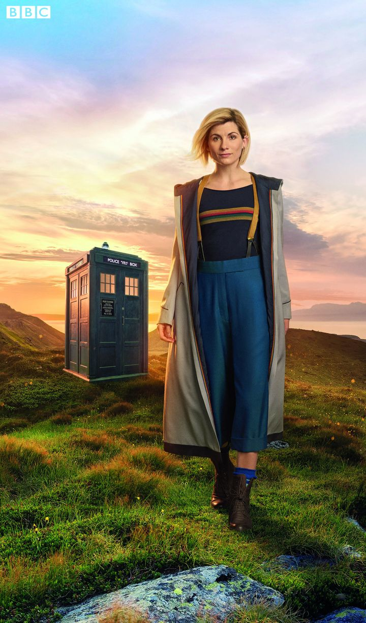 Jodie Whittaker as the Time Lord
