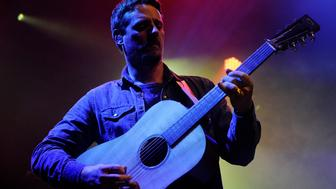 DENVER, CO - NOVEMBER 5: Sturgill Simpson performs at the Ogden Theatre in Denver, Colorado on November 5, 2015. (Photo by Seth McConnell/The Denver Post via Getty Images)
