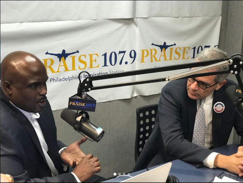 BMe Genius Solomon Jones interviewing newly elected Philadelphia District Attorney    Larry Krasner