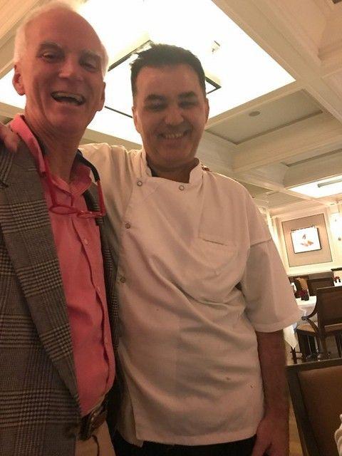 with Chef Joel Antunes