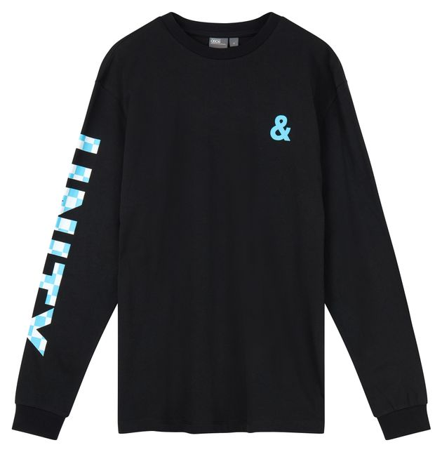 ASOS x GLAAD relaxed long-sleeve t-shirt with sleeve print,