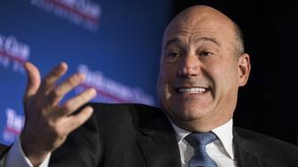 WASHINGTON, USA - NOVEMBER 2: Gary Cohn, chief economic advisor to President Trump, speaks at an event hosted by the Economics Club of Washington D.C. in Washington, United States on November 2, 2017. (Photo by Samuel Corum/Anadolu Agency/Getty Images)