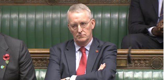 Hilary Benn is not happy with the