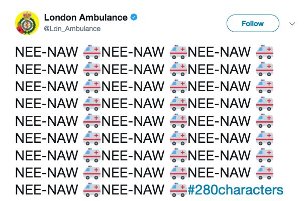 Britain's Public Services Are Living Their Best Life On 280-Character