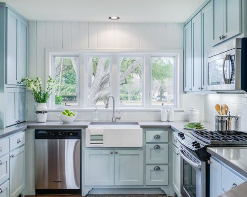 "<a rel=""nofollow"" href=""https://www.houzz.com/photo/24568047-contemporary-mid-century-kitchen-remodel-traditional-kitchen-aus"