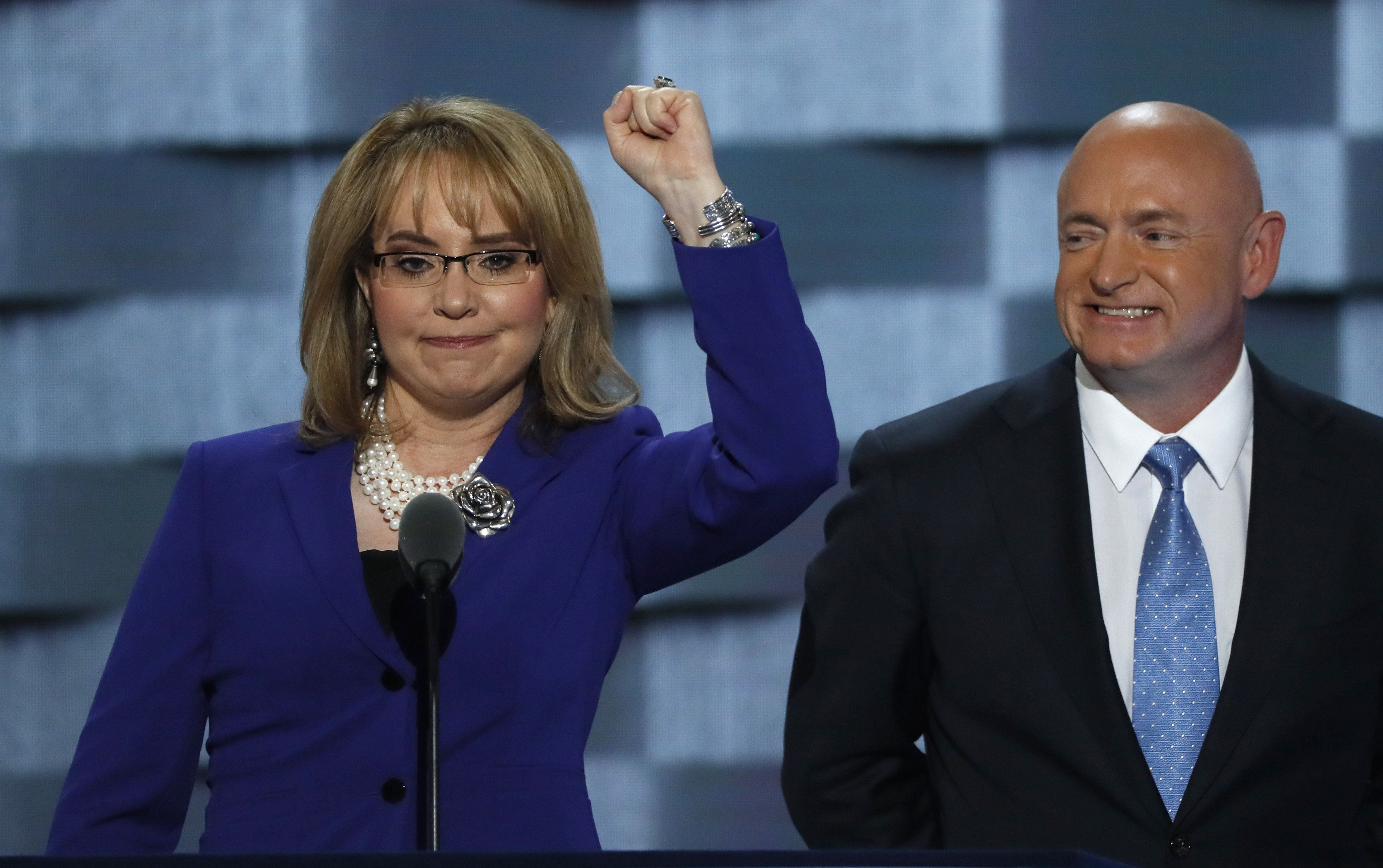 Former U.S. Representative Gabby Giffords, Victim Of A Shooting Attack  While She Was A Member