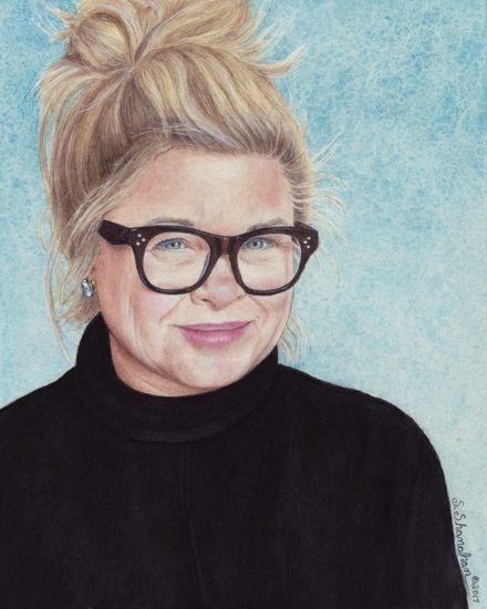 Watercolor by Sue Shanahan