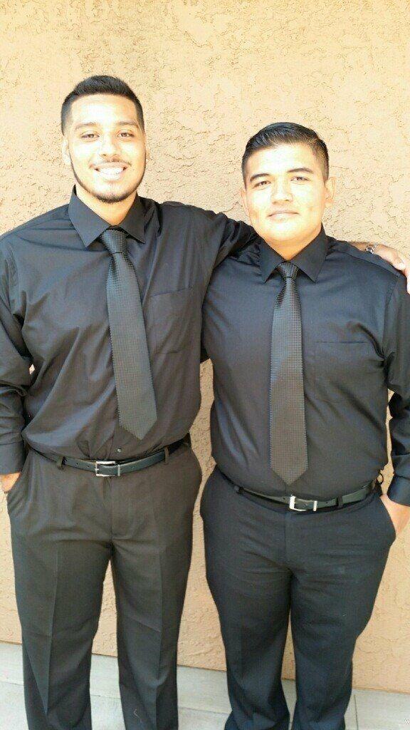 Sean and Tony