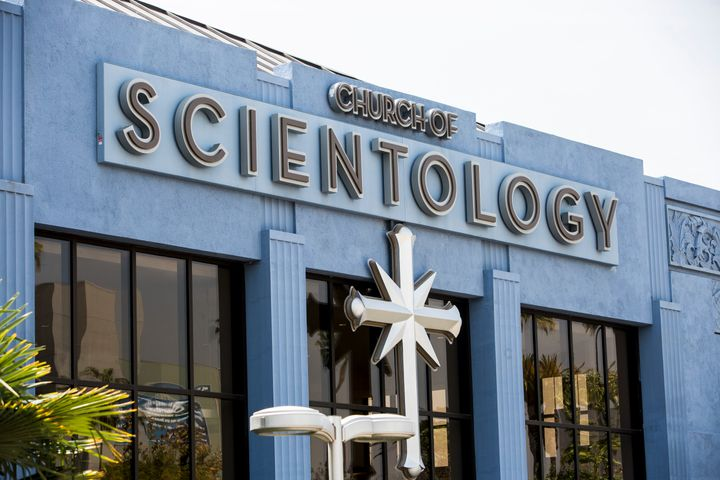 A Church of Scientology in Los Angeles.