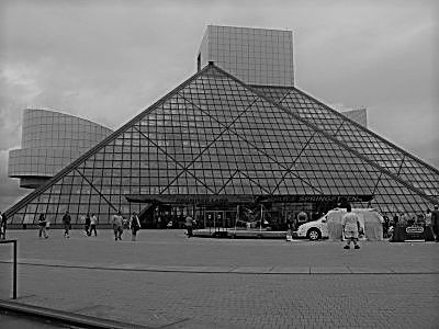 It's a dump, but it's our dump...the Rock and Roll Hall of Fame