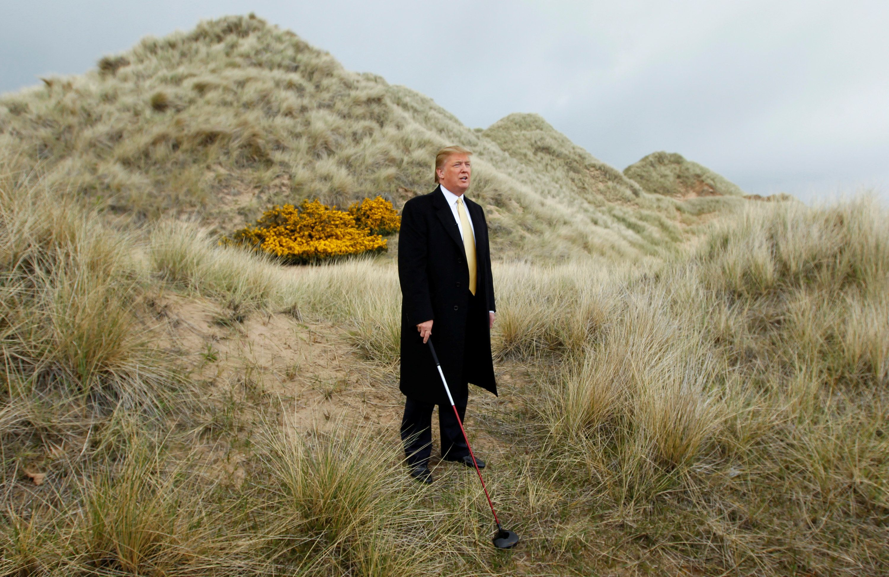 A man and his dunes
