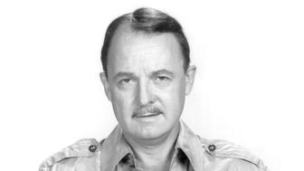 American actor John Hillerman as Higgins in the US TV series 'Magnum PI', circa 1984. (Photo by Silver Screen Collection/Getty Images)