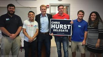 Chris Hurst unseated a Republican incumbent two years after his girlfriend was killed on live TV