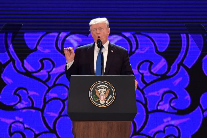 On the final day of the APEC CEO Summit in Danang, Vietnam, President Donald Trump said the United States was ready to make a