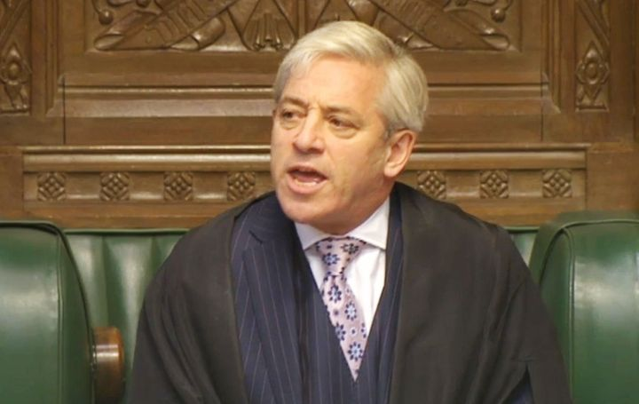 Commons Speaker John Bercow said he's unwilling to invite U.S. President Donald Trump to speak before the United Kingdom's Pa