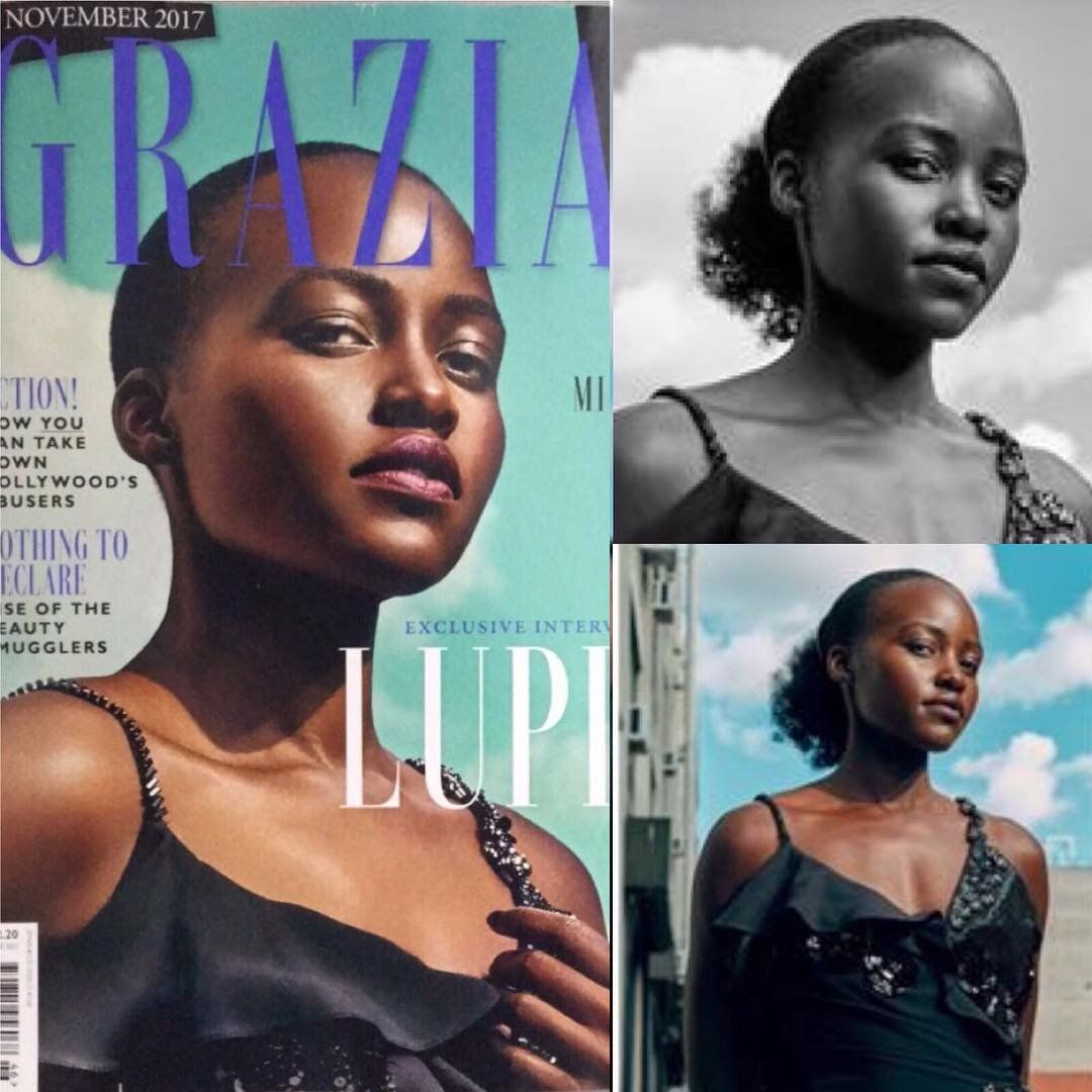 Lupita Nyong'o Slams Grazia For Photoshopping Out Her 'Kinky Coily'