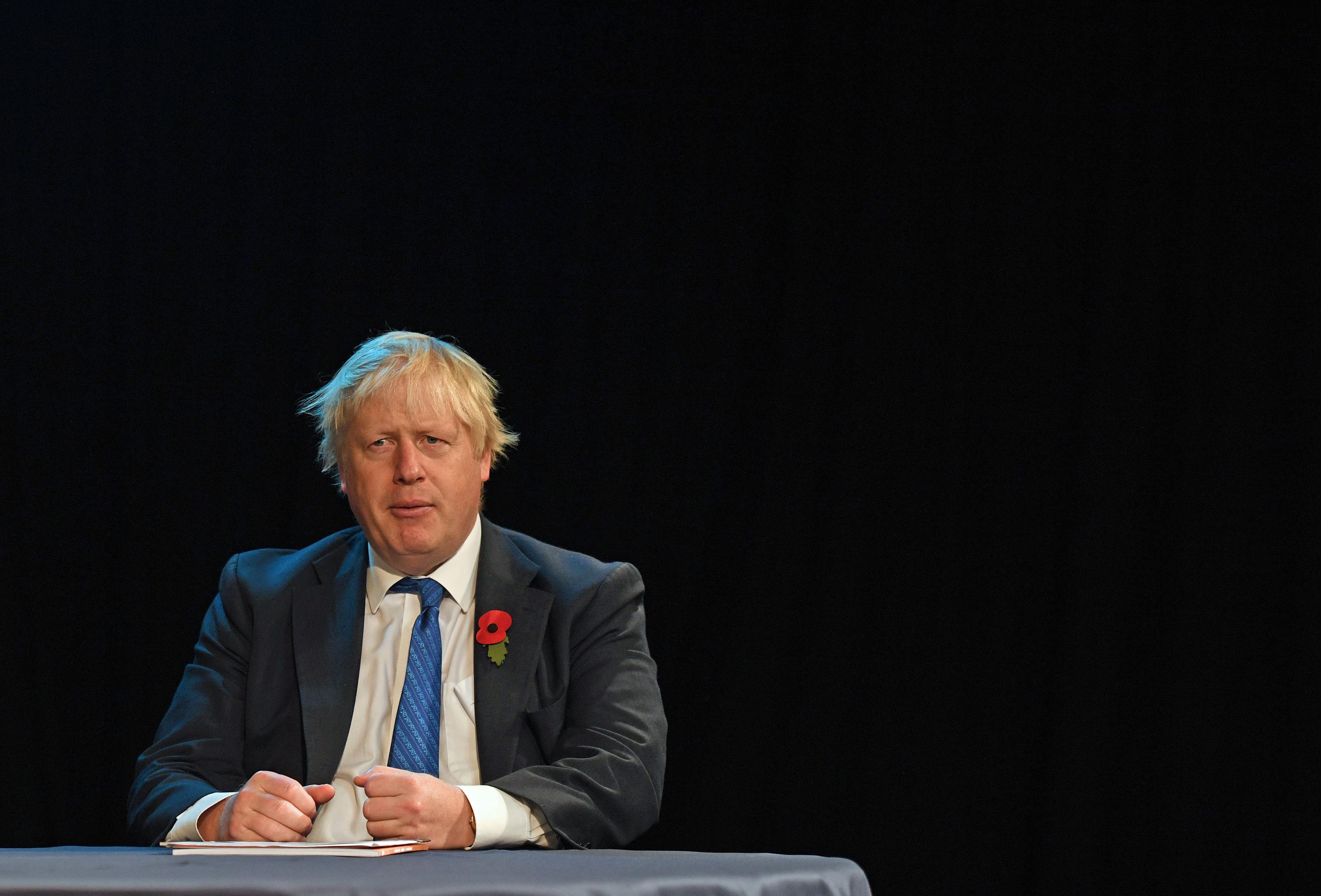 <strong>Foreign Secretary Boris Johnson</strong>
