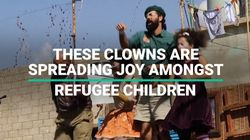 These Clowns Are Bringing Joy To Refugee Children
