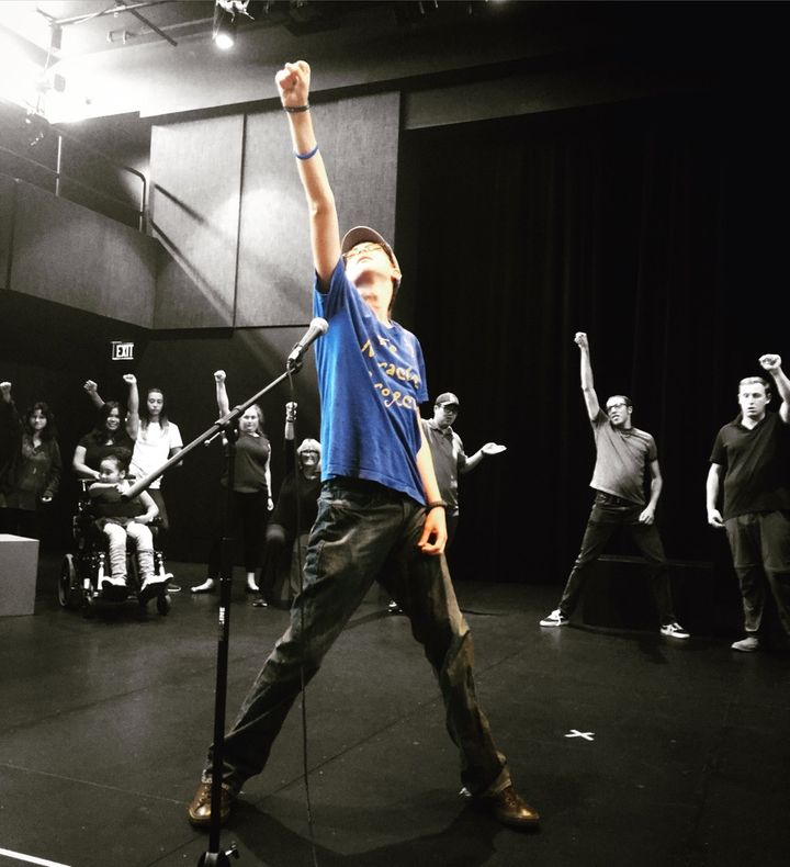 <p>Coby Bird and The Miracle Project at the Wallis Annenberg Center for the Performing Arts </p>
