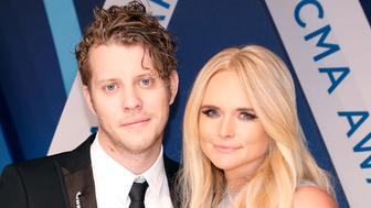 NASHVILLE, TN - NOVEMBER 08:  Anderson East and Miranda Lambert attend the 51st annual CMA Awards at the Bridgestone Arena on November 8, 2017 in Nashville, Tennessee.  (Photo by Taylor Hill/FilmMagic)
