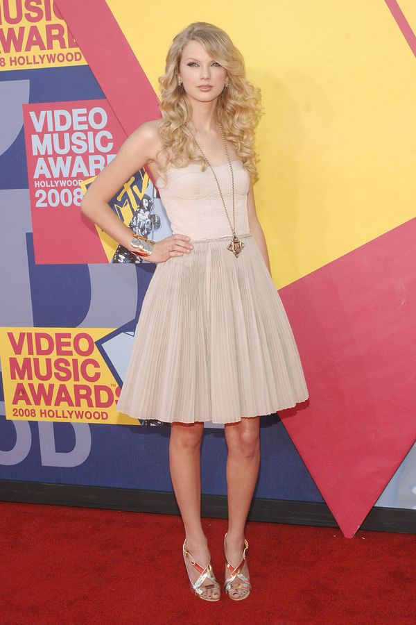 At the 2008 MTV Video Music Awards on Sept. 7, 2008.