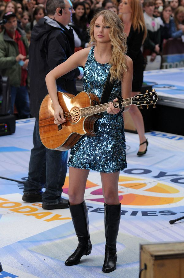 """Performingon NBC's """"Today"""" on May 29, 2009, in New York City."""