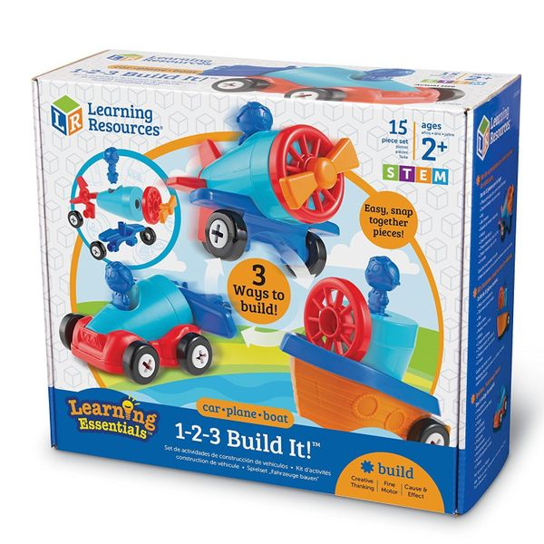 "There are three ways to have fun with this <a href=""https://www.amazon.com/Learning-Resources-1-2-3-Build-Pieces/dp/B01MU51PJ"