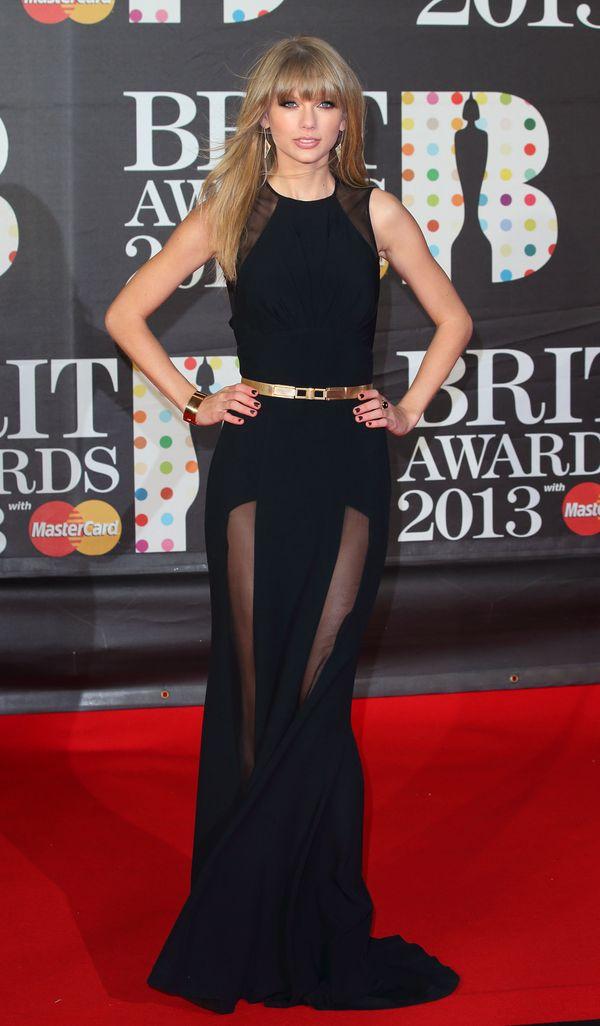 Atthe Brit Awards on Feb. 20, 2013, in London, England.