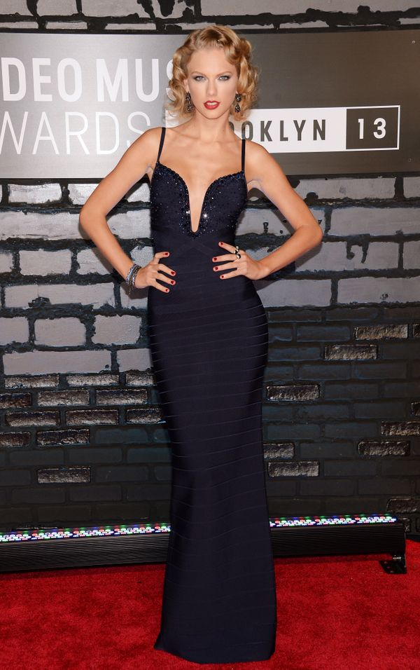 Atthe 2013 MTV Video Music AwardsonAug. 25, 2013, in New York City.