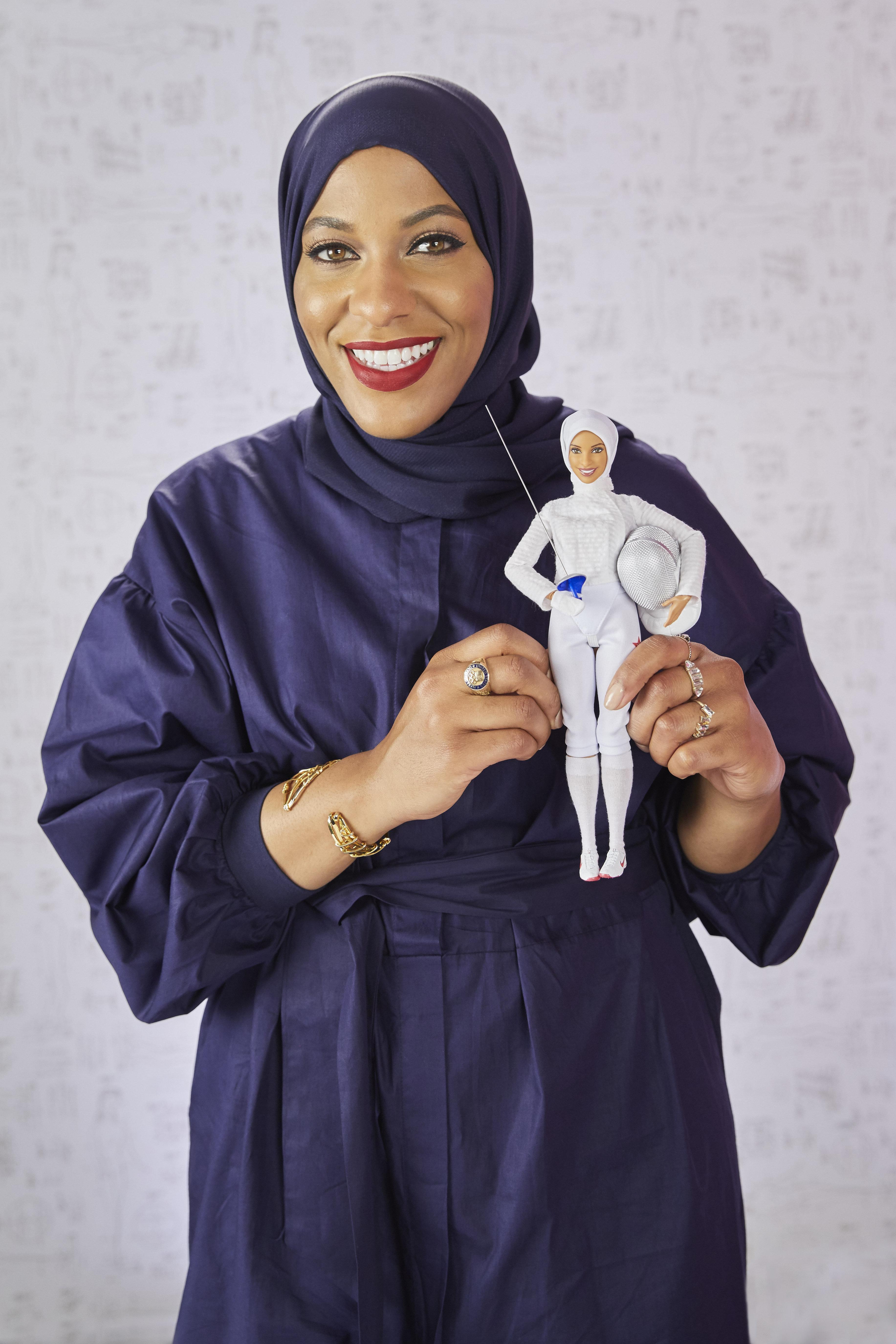 Olympic Fencer Ibtihaj Muhammad Just Got Her Very Own