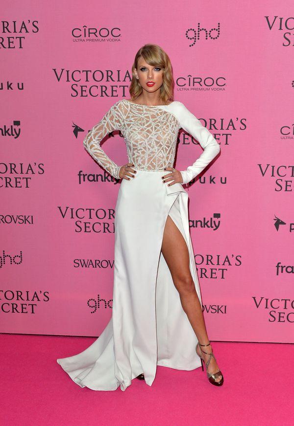 Atthe 2014 Victoria's Secret Fashion Show on Dec. 2, 2014, in London.
