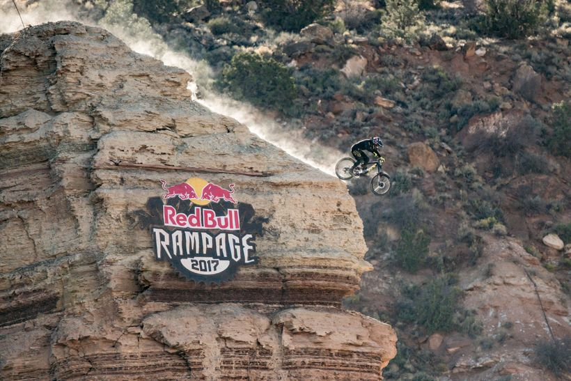 Red Bull Rampage >> One Of A Kind 2017 Red Bull Rampage In Pictures Huffpost