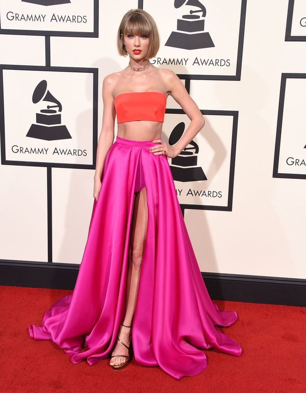 At the 58th Grammy Awards on Feb. 15, 2016, in Los Angeles.